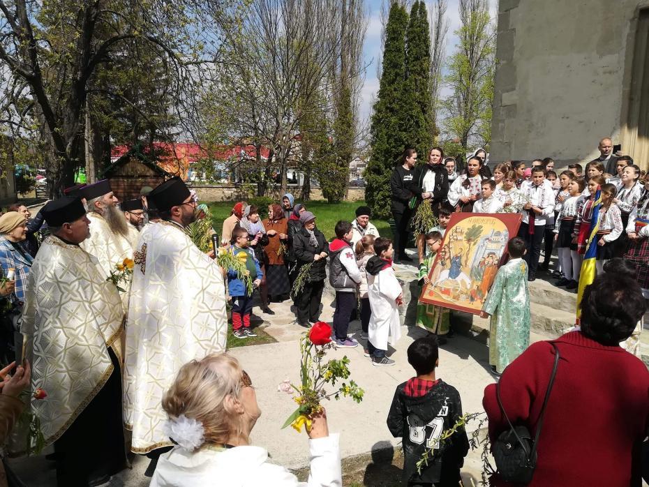 Scurt moment muzical la Biserica Sf. Dumitru
