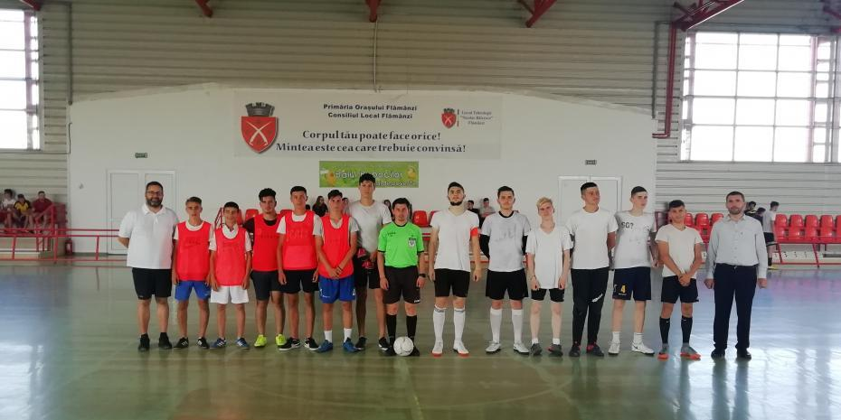 Echipa Parohiei Feredeni și echipa Parohiei Nicolae Bălcescu II în faza grupelor (0-0)
