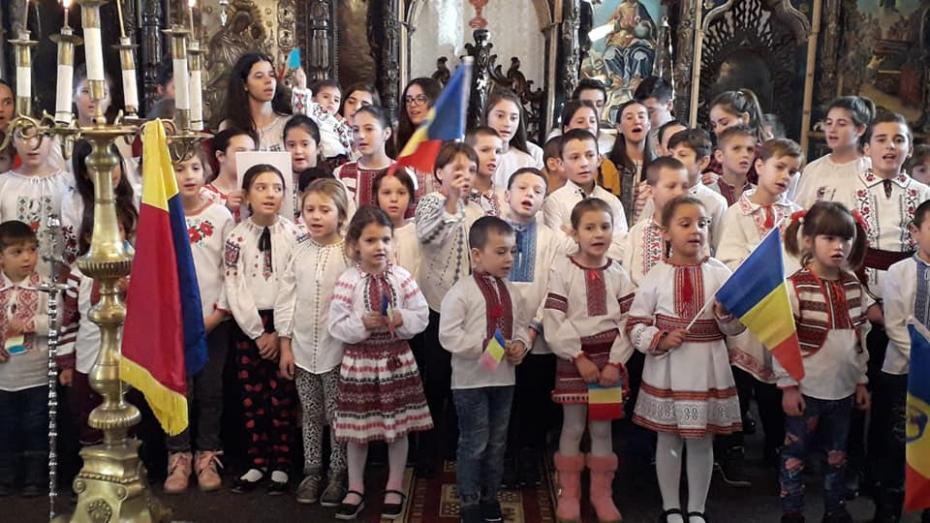 Copii din Ansamblul Hurgheșul, Grupul vocal Hurgheșelul și de la școala satului